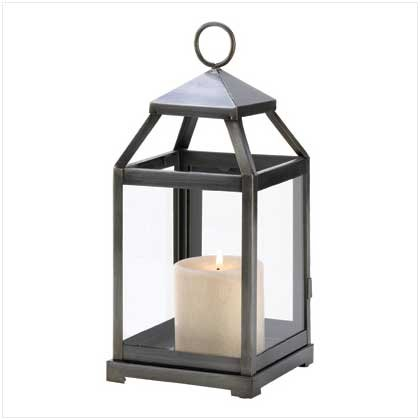 Gifts & Decor Rustic Silver Candle Holder Hanging Garden Lantern