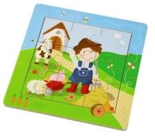 31GOODNDvFL Cheap  Haba Little Farm Discovery Puzzle