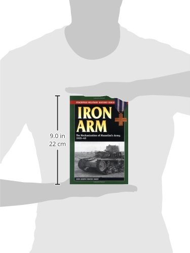 Iron Arm: The Mechanization of Mussolini's Army, 1920-1940 (Stackpole Military History)