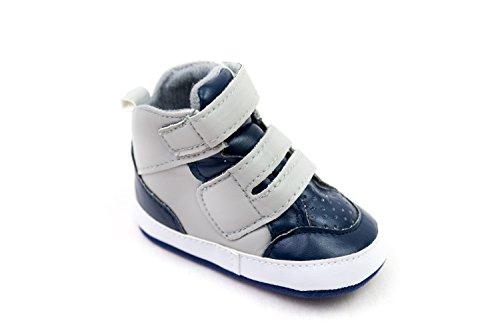 DC Shoe Lowtop Babies Crib Shoes 6-9 months BLUE