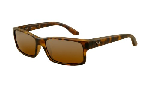 Ray Ban RB4151 Sunglasses-894/3K Matte Havana (Brown Mirror Silver Lens)-59mm