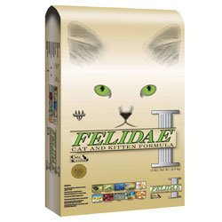 Image of Felidae Cat and Kitten Formula Chicken, Turkey, Lamb, and Fish Meals Dry Cat Food