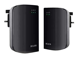 Belkin Powerline AV 200Mbps Adapter 3-Port Duo