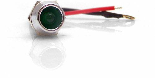 Keep It Clean Swind1Gn Green 5Mm 12V Billet Led Indicator Light