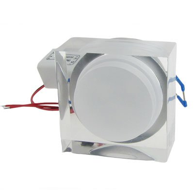 Ac 100-240V 6000K 3W 3 X 1W Acrylic Led Ceiling Fixture Recessed Down Lamp White Light