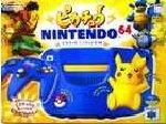 echange, troc Console Nintendo 64 Edition Spéciale Bleue Pikachu (Version Japonaise)