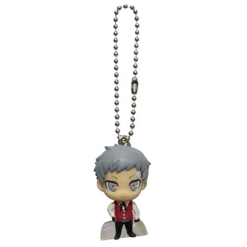 "Persona 3 The Movie P3 Swing Mascot Keychain Figure ~1.5"" - Sanada Akihiko"
