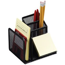 Buy Rolodex Expressions Mesh Desk Organizers, Durable Steel, Pewter
