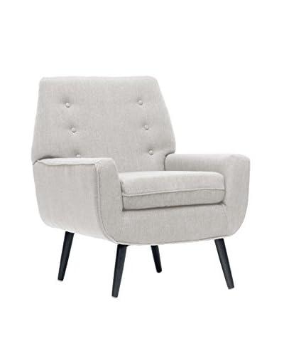 Baxton Studio Levison Accent Chair, Beige