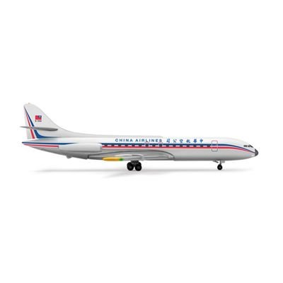 Herpa China Airlines Sud Caravelle 1/500 Model Airplane