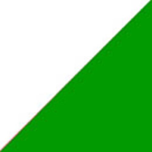 Цвет: белый/Келли зеленый