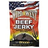Wild West Gourmet Beef Jerky Original 100g (Pack of 12)