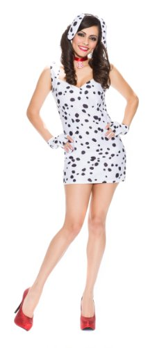 Delicious Women's Spotted Sweetie Dalmatian Costume