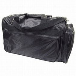 City Lights Milan Collection Large Duffle, Black