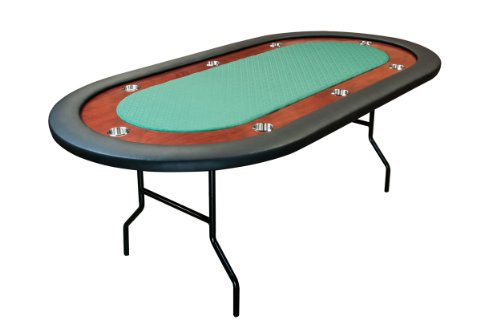 Counter Height Poker Table : Ultimate Poker Table, Jr. In Green Speedcloth By BBO Poker Tables