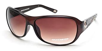 Skechers Women's Designer Sunglasses SK 7003 BRN-34