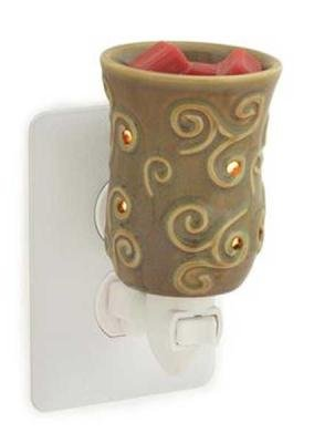 Candle Warmers Etc. Plug-in Fragrance Warmer, Moss