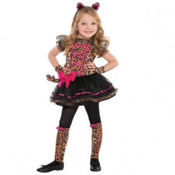 Children's Precious Leopard Costume