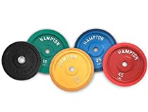 Rubber Bumper Plates (SINGLE) 25 lbs/Cast Iron/Yellow/