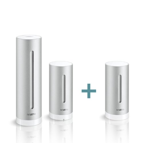 Netatmo Weather Station for iOS and Android Devices with Additional Indoor Module (Netatmo Indoor Module compare prices)
