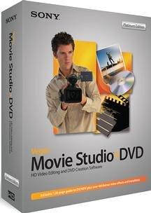 Vegas Movie Studio DVD Platinum Edition (HD Video Editing and Creation Software)