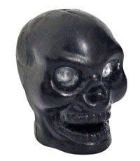 Trik Topz Valve Caps Skull Black