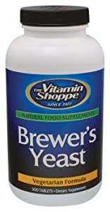 Vitamin Shoppe - Brewer's Yeast, 500 tablets