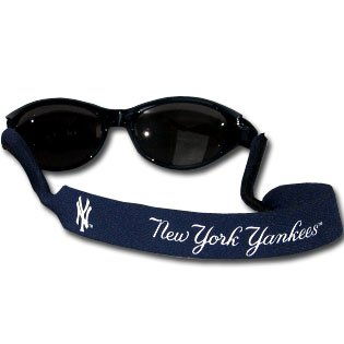 New York Yankees Neoprene Sunglass Strap - MLB Baseball Fan Shop Sports Team Merchandise