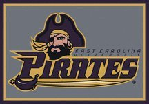 East Carolina Pirates 5' 4