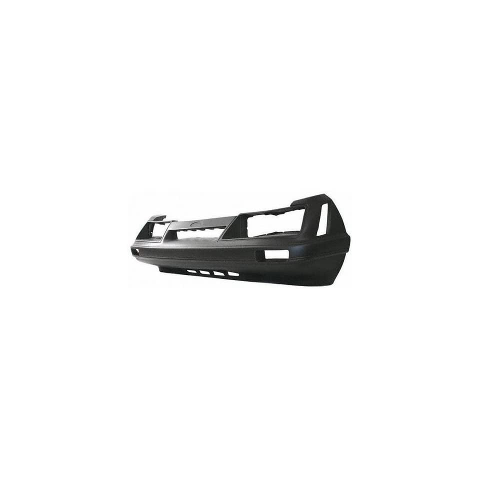85 86 FORD MUSTANG FRONT BUMPER COVER, Except GT Model(LX), CAPA Certified Part (1985 85 1986 86) C303Q E5ZZ8190A