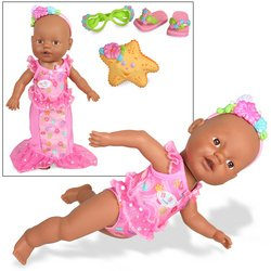 Baby Born Look Mommy, I Can Swim- AA (Mommy Look I Can Swim Doll compare prices)