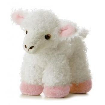 Stuffed Animal Lambs front-1050266