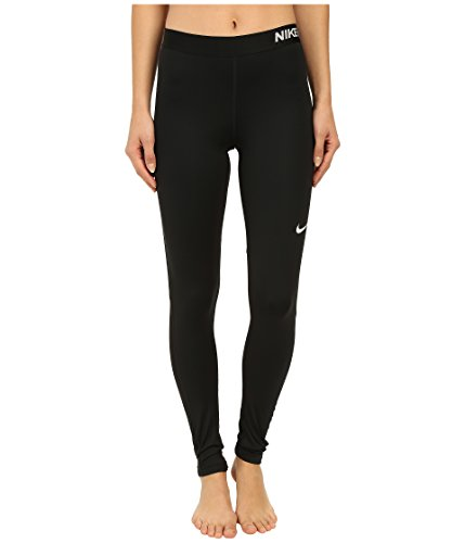 Nike donna abbigliamento donna Pro Cool Tights, Donna, Oberbekleidung Pro Cool Tights, Black/White, XL