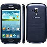 Samsung Galaxy S III Mini I8190 8GB Blue Unlocked GSM Phone with Android 4.1 OS, Dual Core, Super AMOLED Touchscreen, 5M
