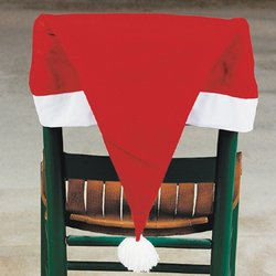 Oriental Trading Santa Hat Chair Covers - Set of 4 at Sears.com