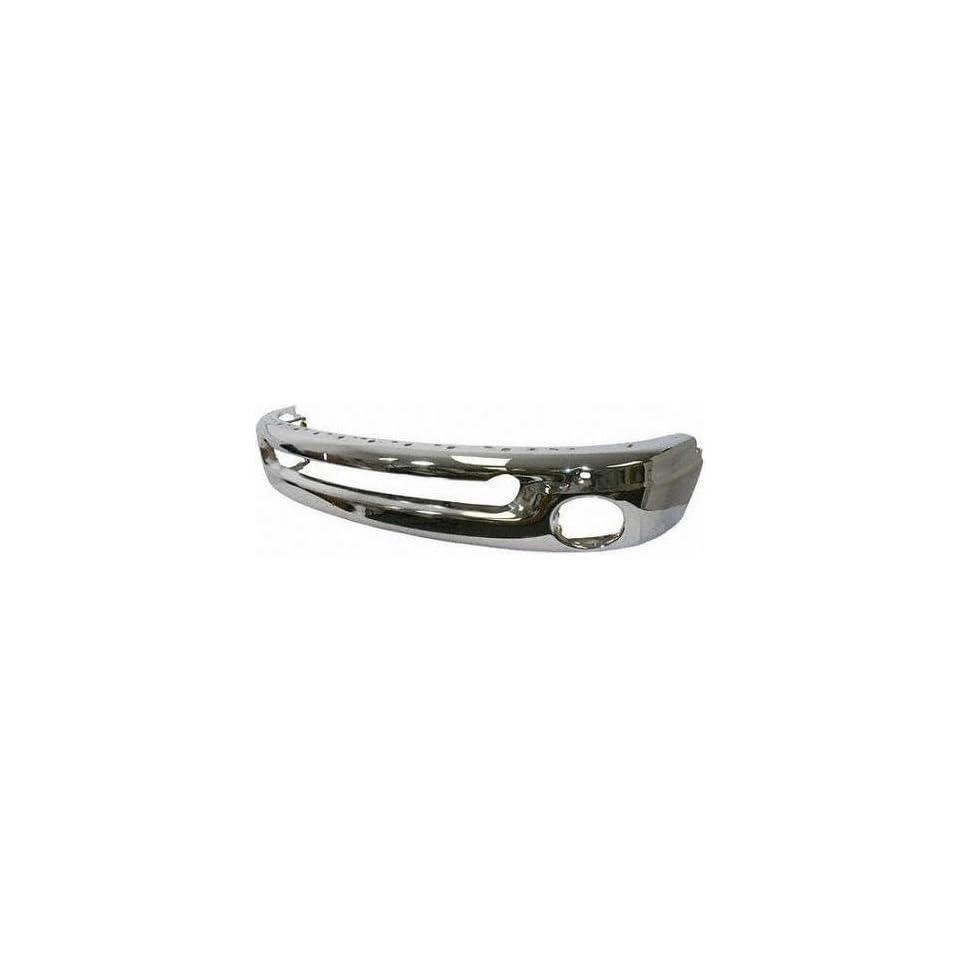 02 05 DODGE FULL SIZE PICKUP fullsize FRONT BUMPER CHROME TRUCK, w/o Sport Model (2002 02 2003 03 2004 04 2005 05) D010903 55077103AB