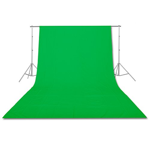 Emart 10x20-Feet Pure Muslin Cotton Backdrop  for Photography, Video and Televison (Green) (Photography Backdrop Starter Kit compare prices)