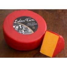 Belton Farm Top Hat Red Wax Cheddar Half Wheel Cheese, 4.4 Pound -- 2 per case. (Cheddar Cheese Wax compare prices)