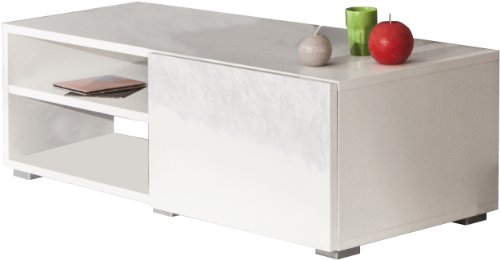 The Best  Symbiosis 3154A2119L02 TV Stand 2 Compartments 1 Drawer Melamine
