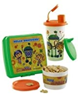 Tupperware Kids Team Umizoomi Nickelodeon Lunch Snack Set with Sippy Bell Tumbler Keeper Cup