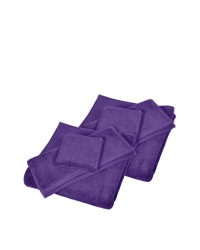 Home Source 6-Piece Shower Set, Violet As You See