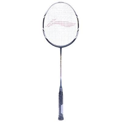 Li-Ning G-Tek 80 Muscle Badminton Racquet (White/Black)