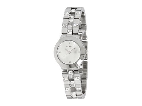 GUESS Women's U90038L1 Feminine Sparkle and Polish Watch