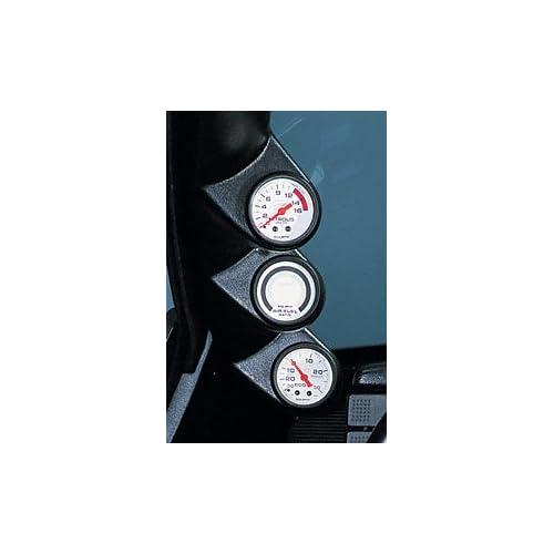 Auto Meter 12109 Black Triple Pillar for 2002 2004 Ford