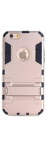 MGM Iphone 6 Case, (4.7-inch) (Red/blue/gold/silver) Tough Armor Case for Iphone 6 (Gold)