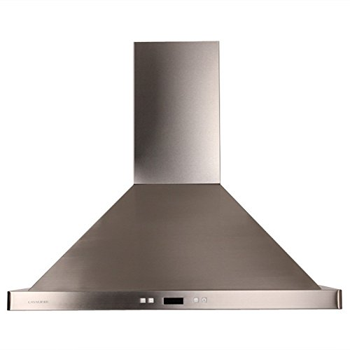 Contemporary Range Hood front-30246