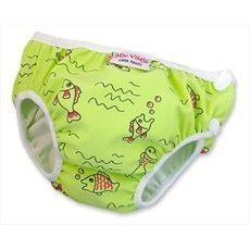 Imse Vimse Swim Diaper Green Fish Large [Health and Beauty]