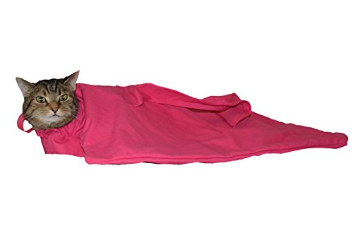 Cat-in-the-bag Cozy Comfort Carrier (Pink, XL – for long big breed cats 22 – 36 lbs.)