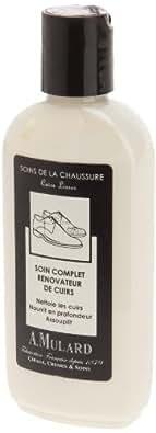 Soin Complet Rénovateur de Cuirs - Fabrication Française - Pour Cuirs Lisses - Coloris Neutre