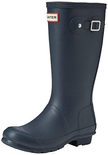 Hunter - Original Kids Wellington Boots, Stivali per bambini e ragazzi, Blu, 33 EU